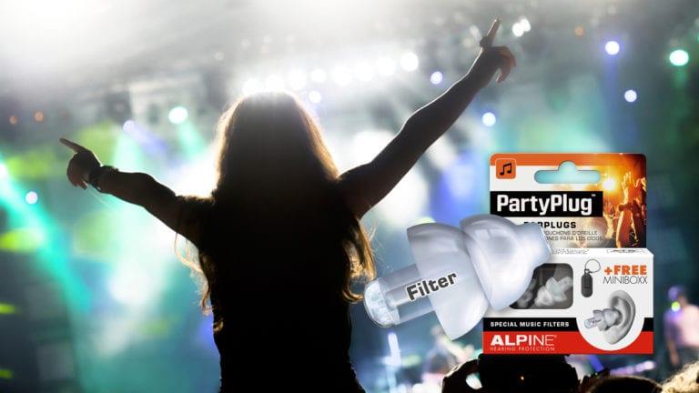 Alpine PartyPlug with picture festival