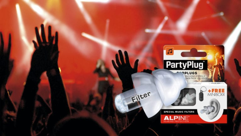 Alpine PartyPlug with picture hands