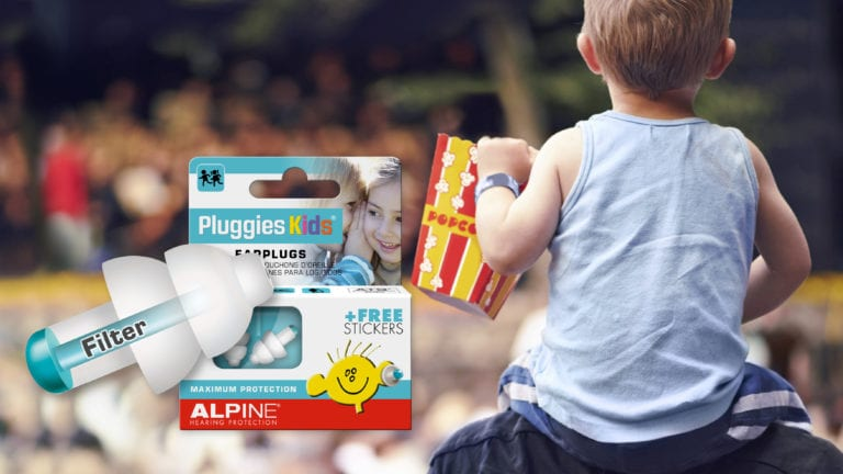 Alpine Pluggies Kids with picture concert