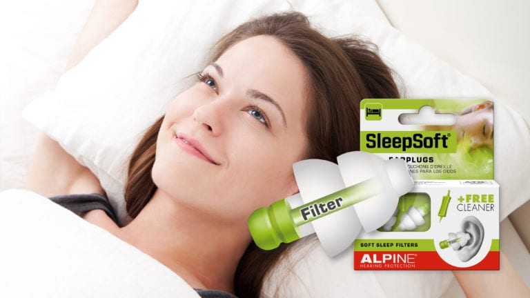 Alpine SleepSoft with picture waking up