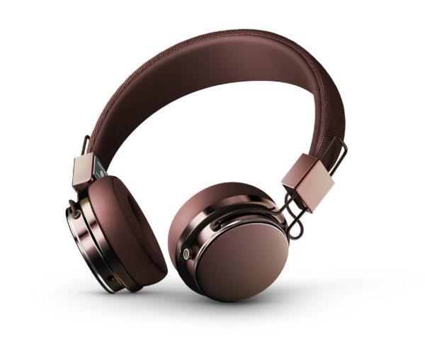 Plattan 2 Cherry Brown trådløse hodetelefoner