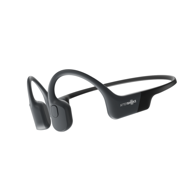 Sorte Aftershokz Aeropex hodetelefoner
