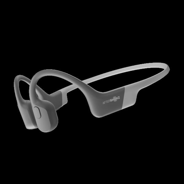 Grå Aeropex bone conduction hodetelefoner